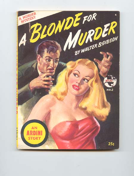 Image for A Blonde for Murder