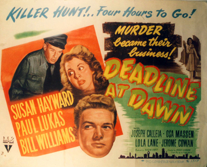 "Image for ""Deadline at Dawn"""
