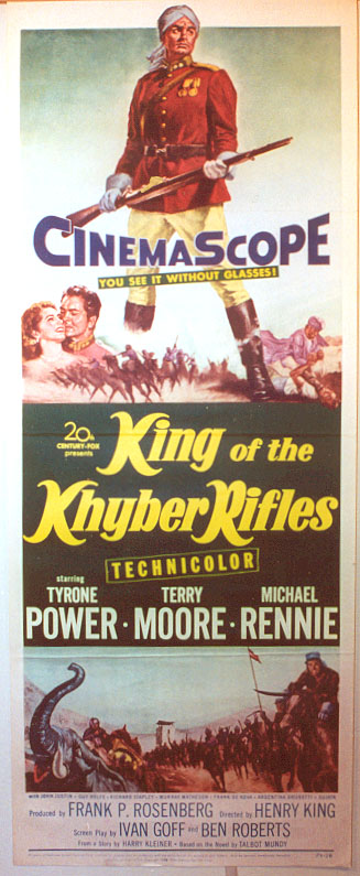 "Image for ""King of the Khyber Rifles"""
