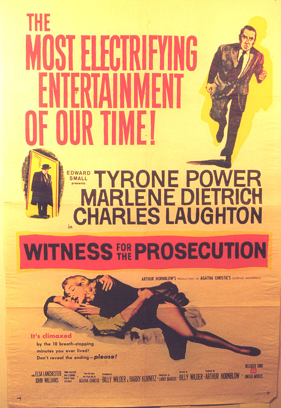 "Image for ""Witness for the Prosecution"""