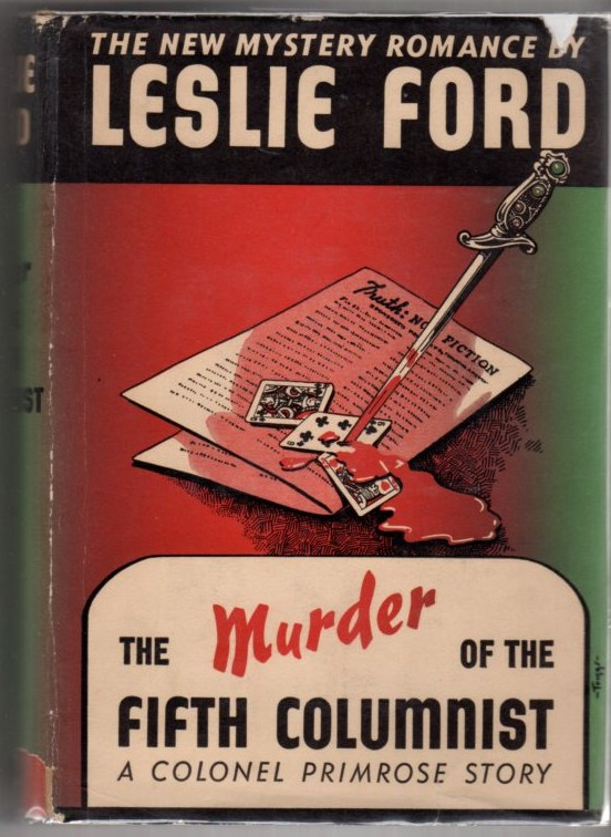 Image for The Murder of the Fifth Columnist