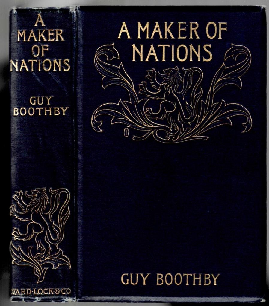 Image for A Maker of Nations