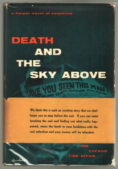 Image for Death and the Sky Above
