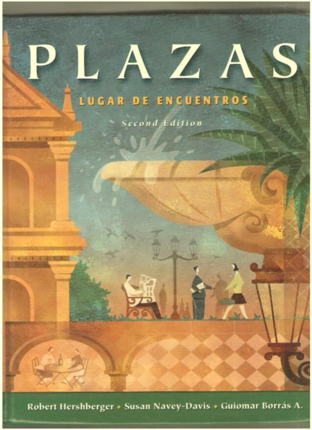 Image for Plazas: Lugar De Encuentros: Second Edition (complete with two audio CD's unopened)