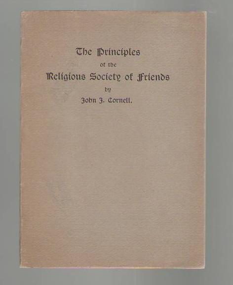 Image for The Principles of the Religious Society of Friends