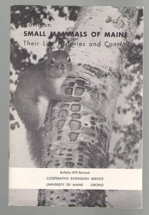 Image for Common Small Mammals of Maine: Their Life Histories and Control
