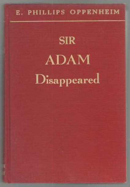 Image for Sir Adam Disappeared
