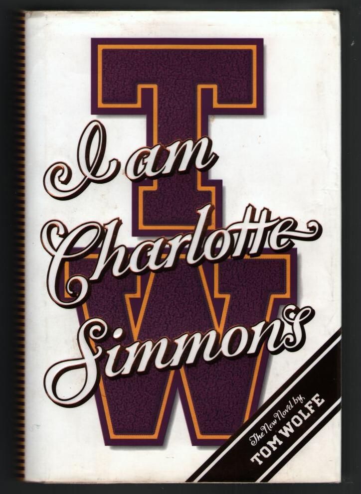 Image for I Am Charlotte Simmon's