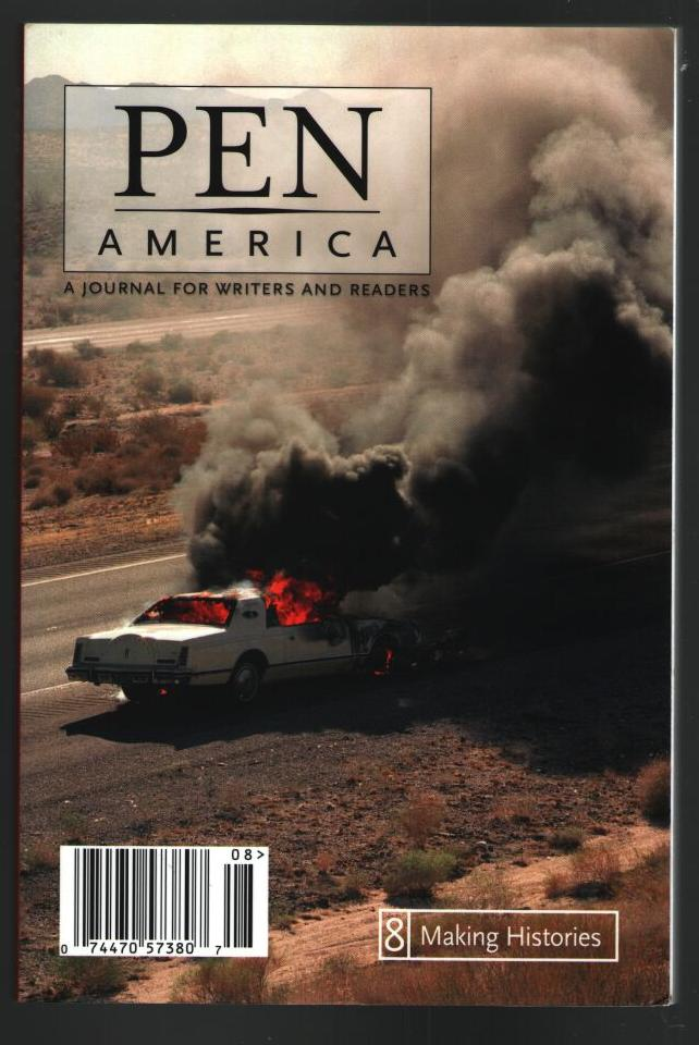 Image for PEN America, A Journal for Writers and Readers: issue 8 Making Histories