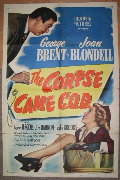"Image for ""The Corpse Came C. O. D."""