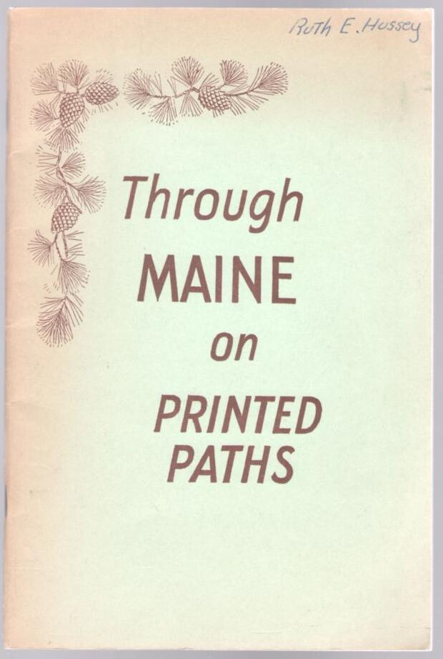 Image for Through Maine on Printed Paths