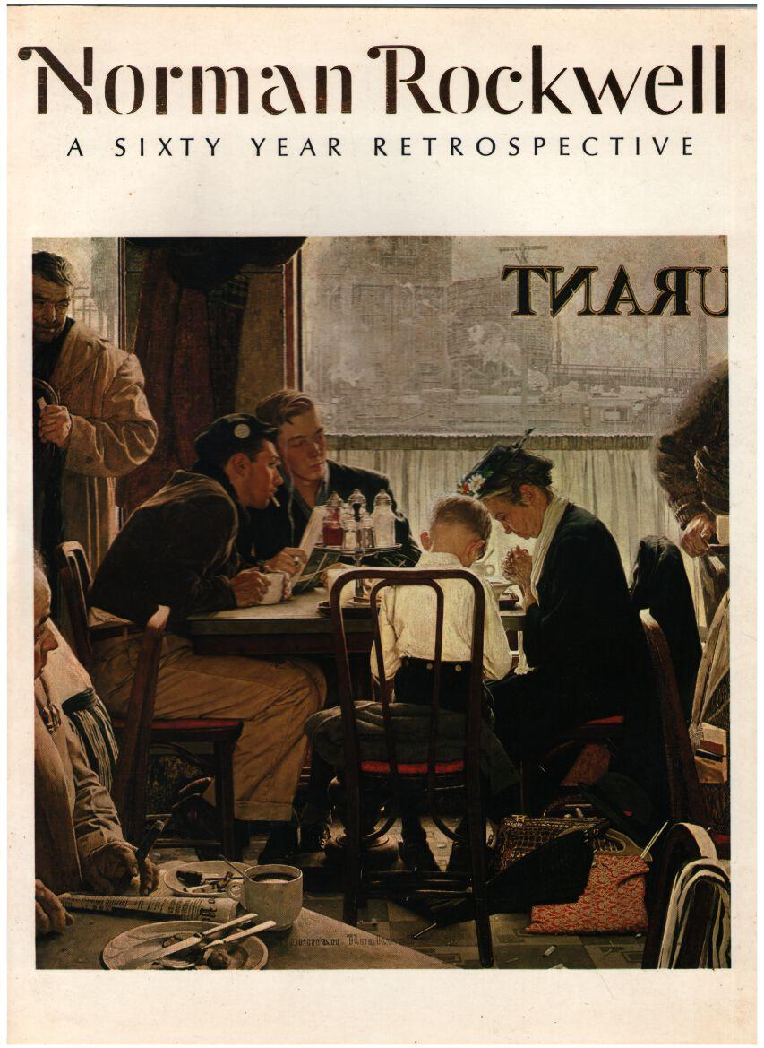 Image for Norman Rockwell: A Sixty Year Retrospective *signed*