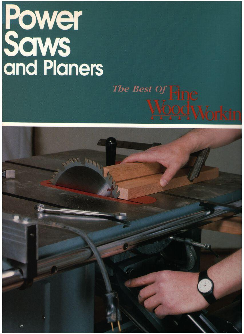 Image for Power Saws and Planers: The Best of Fine Woodworking