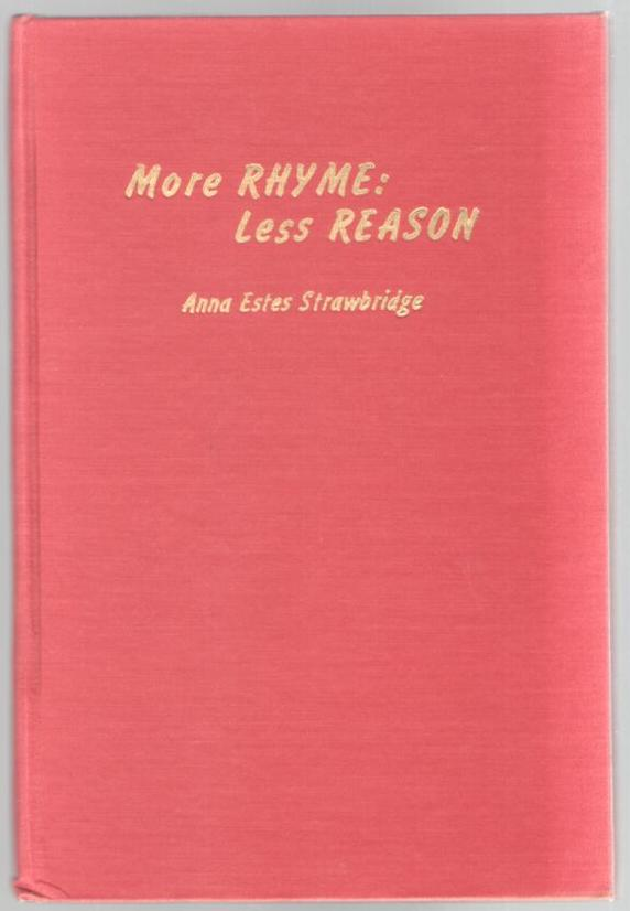Image for More Rhyme: Less Reason