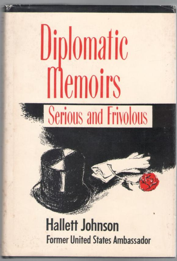 Image for Diplomatic Memoirs: Serious and Frivolous