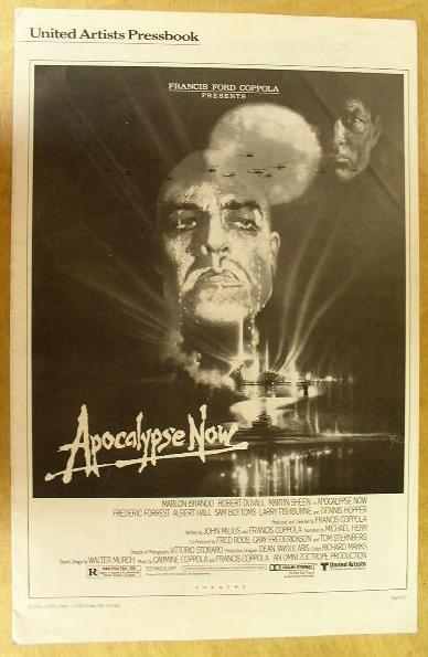 "Image for Original Pressbook for ""Apocalypse Now"""