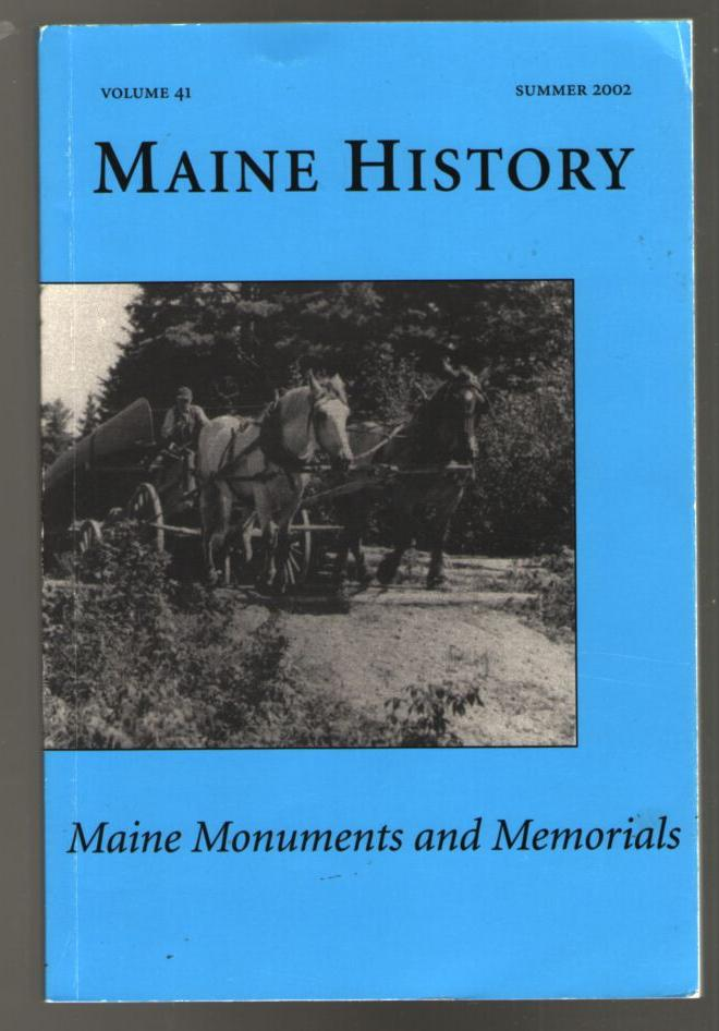 Image for Maine Historical Society Quarterly    0/2002