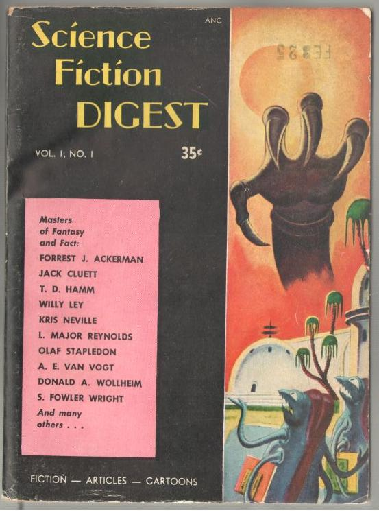 Image for Science Fiction Digest    0/1954