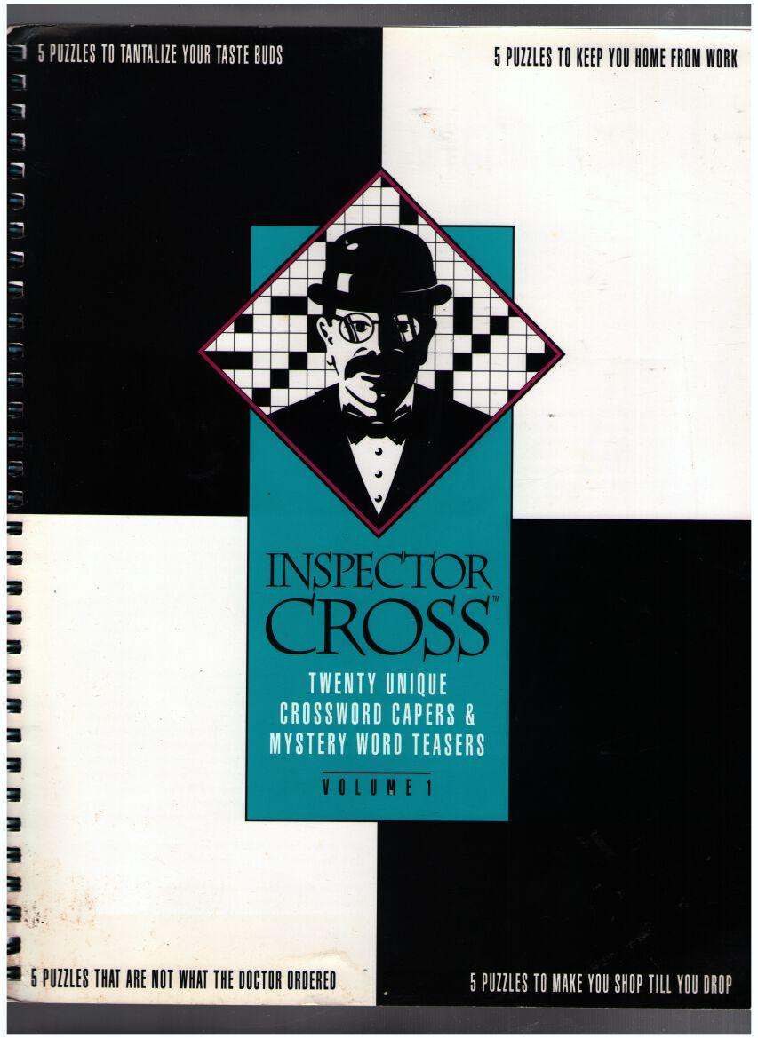 Image for Inspector Cross: Crossword Capers & Mystery Word Teasers - Volume 1