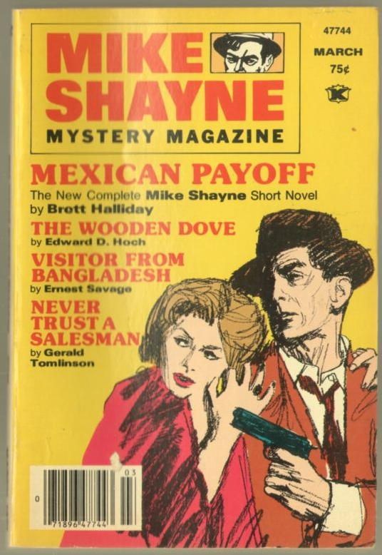 mike shayne mystery magazine 1977 march