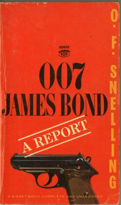 Image for 007 James Bond: A Report