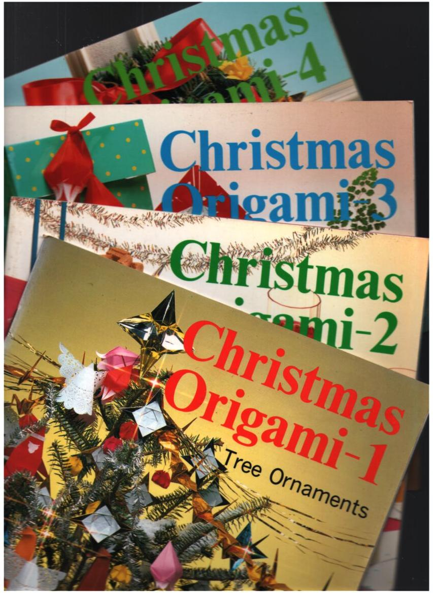 Image for Christmas Origami #1, #2, #3  & #4 (four books)