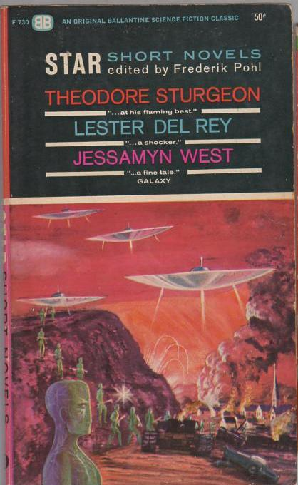 Image for Star Short Novels: Theodore Sturgeon, Lester Del Rey & Jessamyn West