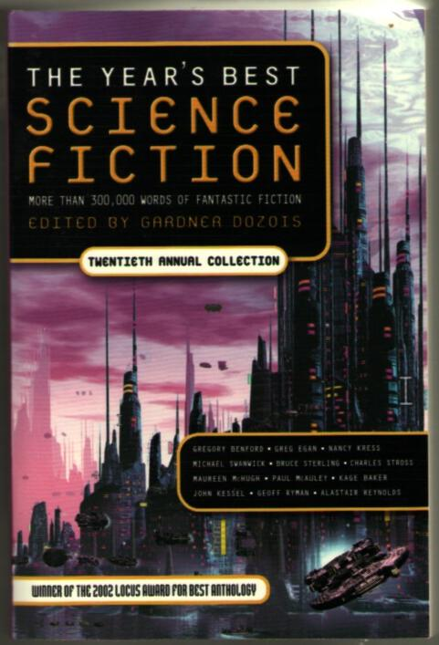 Image for The Year's Best Science Fiction: Twentieth Annual Collection