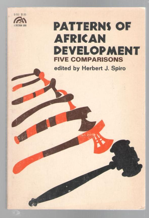 Image for Patterns of African Development; Five Comparisons