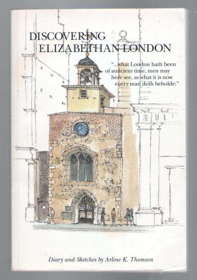 Image for Discovering Elizabethan London