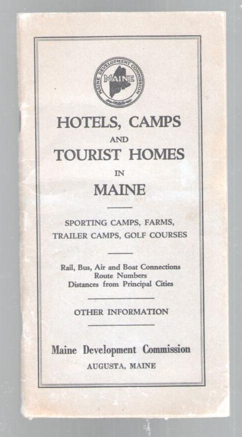Image for Hotels, Camps and Tourist Homes in Maine