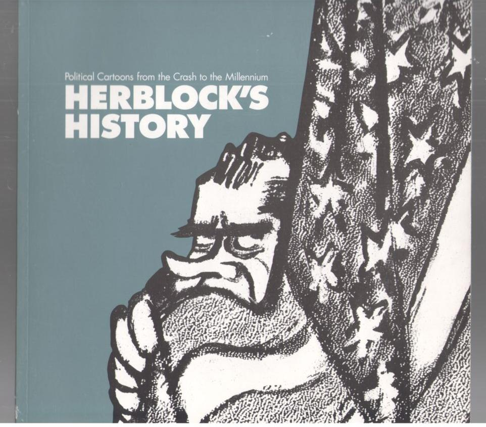Image for Herblock's History: Political Cartoons from the Crash to the Millennium