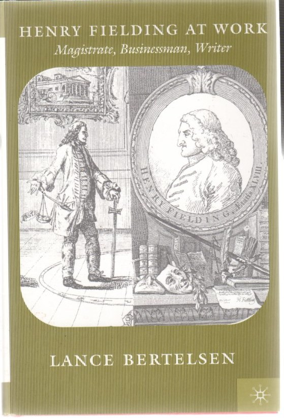 Image for Henry Fielding at Work: Magistrate, Businessman, Writer