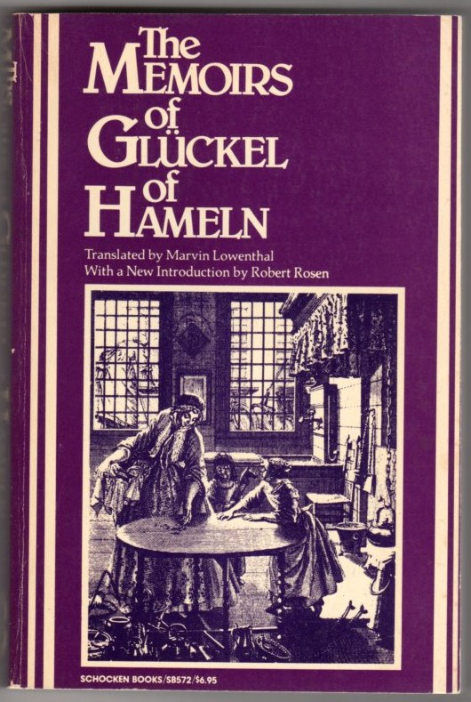 Image for The Memoirs of Gluckel of Hameln