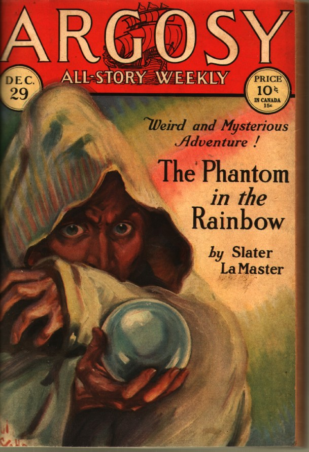 Image for The Phantom in the Rainbow (in Argosy All-Story Weekly)