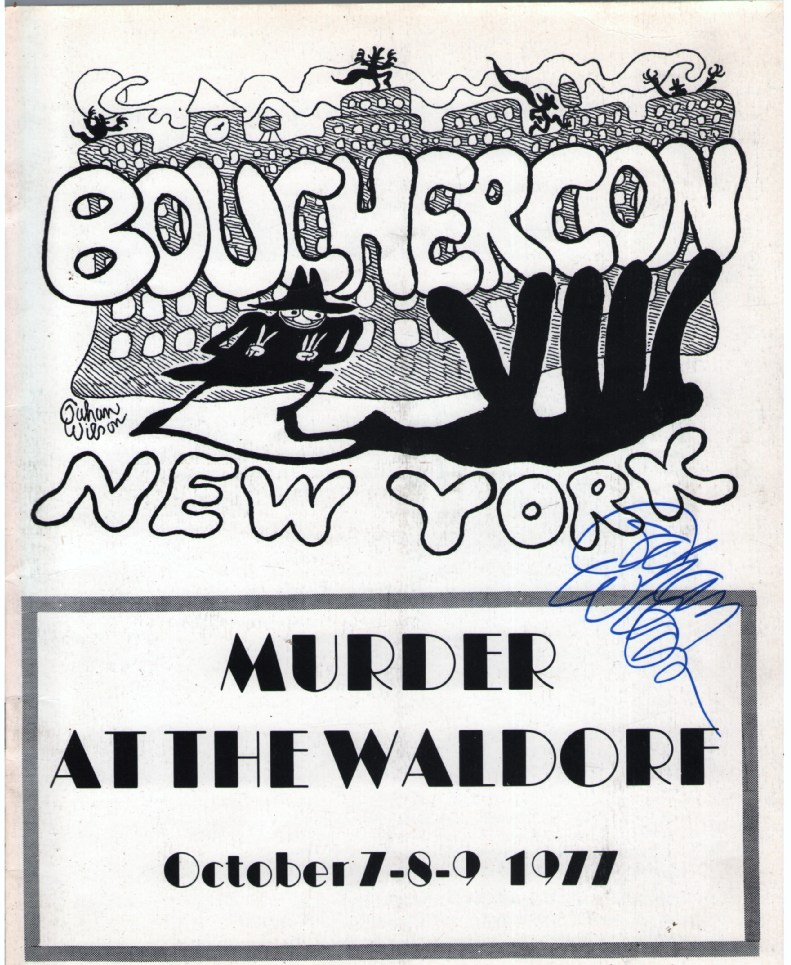 Image for Bouchercon VIII New York Program (with cover design by Gahan Wilson)