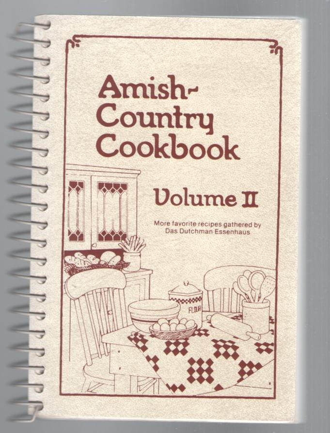 Image for Amish Country Cookbook, Volume 2