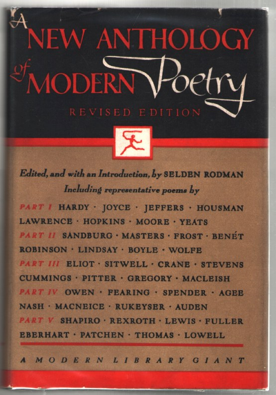 Image for A New Anthology of Modern Poetry: Revised Edition