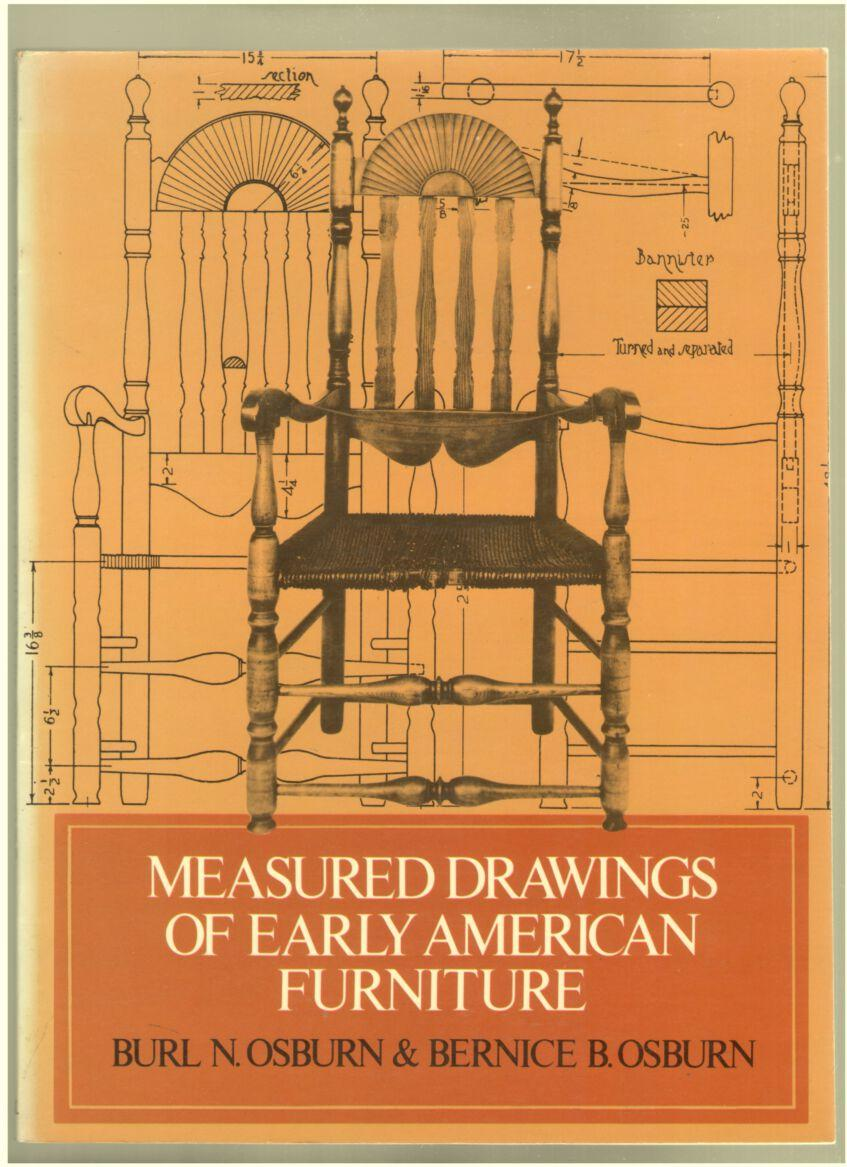 Image for Measured Drawings of Early American Furniture