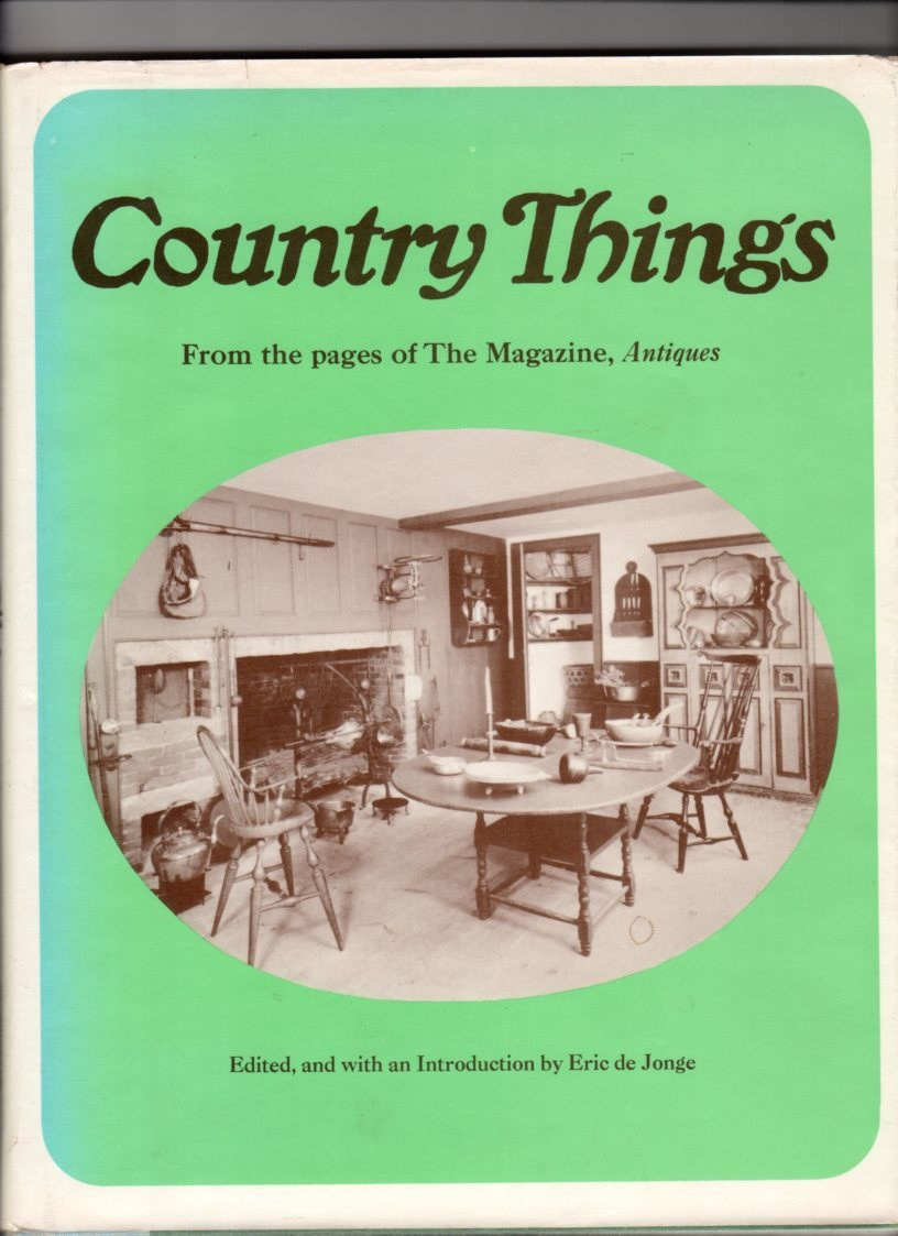 Image for Country Things From the Pages of The Magazine, Antiques