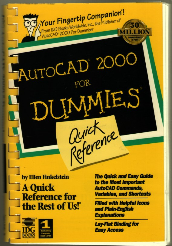 Image for Autocad 2000 for Dummies: Quick Reference