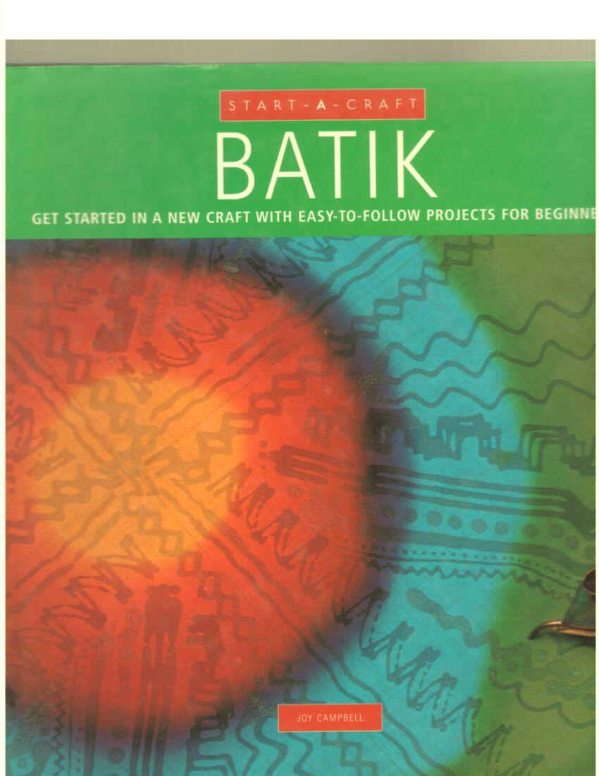 Image for Start-A-Craft: Batik
