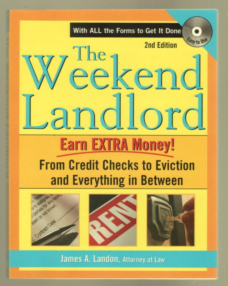 Image for The Weekend Landlord (with CD)