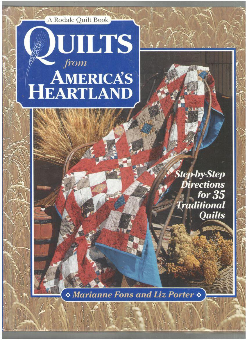 Image for Quilts from America's Heartland: Step-by Step Directions for 35 Traditional Quilts
