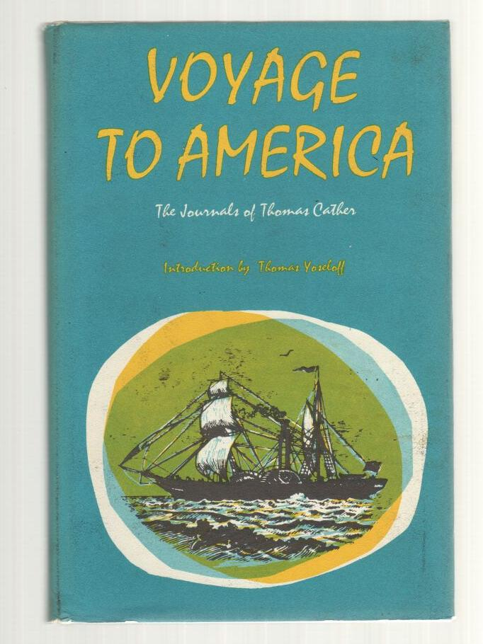 Image for Voyage to America: The Journals of Thomas Cather