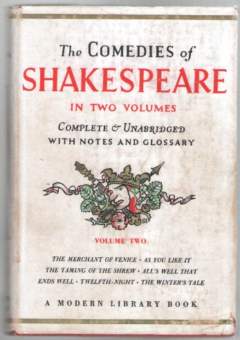 Image for The Comedies of William Shakespeare Volume Two