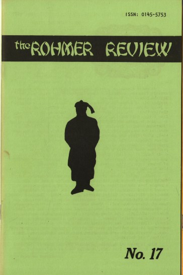 Image for The Rohmer Review #17