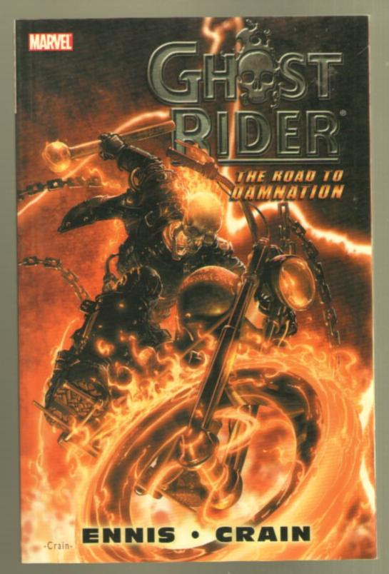 Image for Ghost Rider: The Road to Damnation (Marvel)