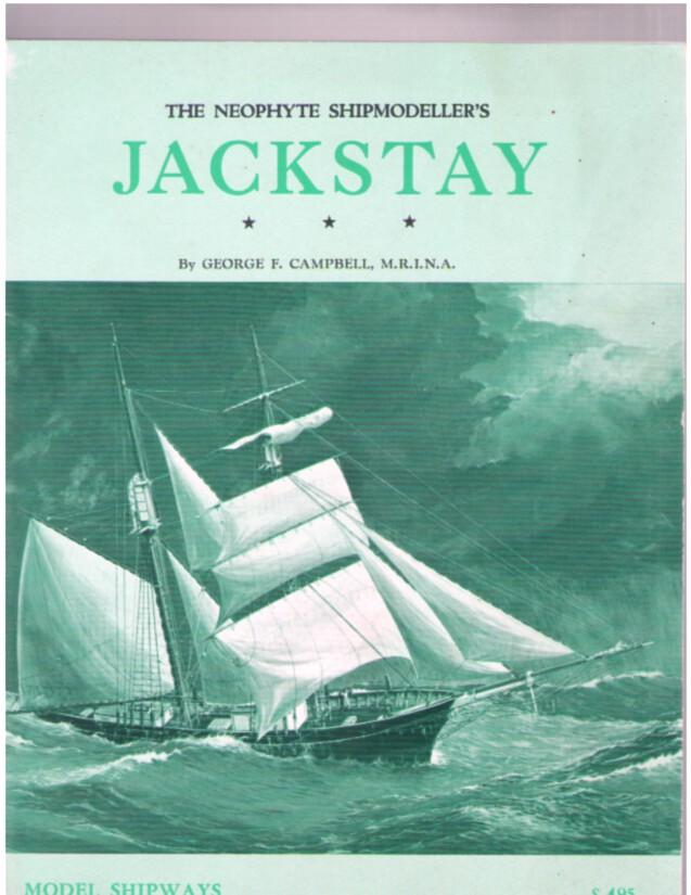 Image for The Neophyte Shipmodeller's JACKSTAY