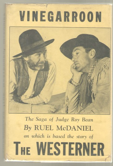 Image for Vinegarroon (The Westerner): The Saga of Judge Roy Bean